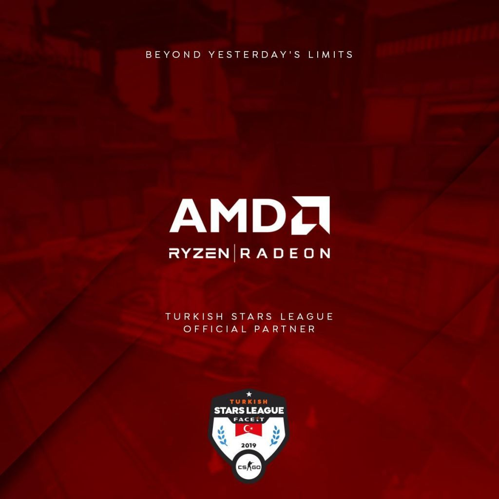 Turkish Stars League & AMD İş Birliği