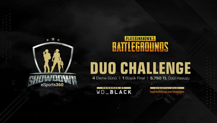 WD Black ile eSports360 SHOWDOWN